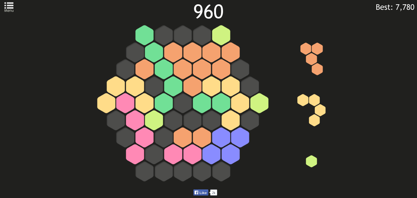 Meet Hex FRVR, the new puzzle game that'll take over your