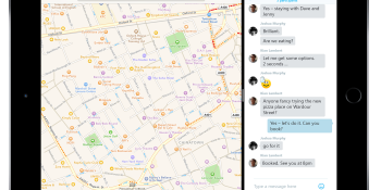 Skype goes iOS 9: Split View mode means you can use a second app on the same screen