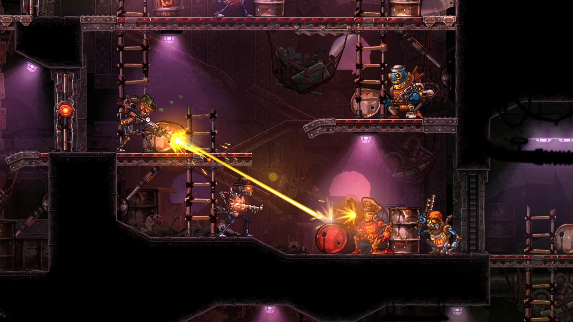 SteamWorld Heist started with an office argument about X-COM working
