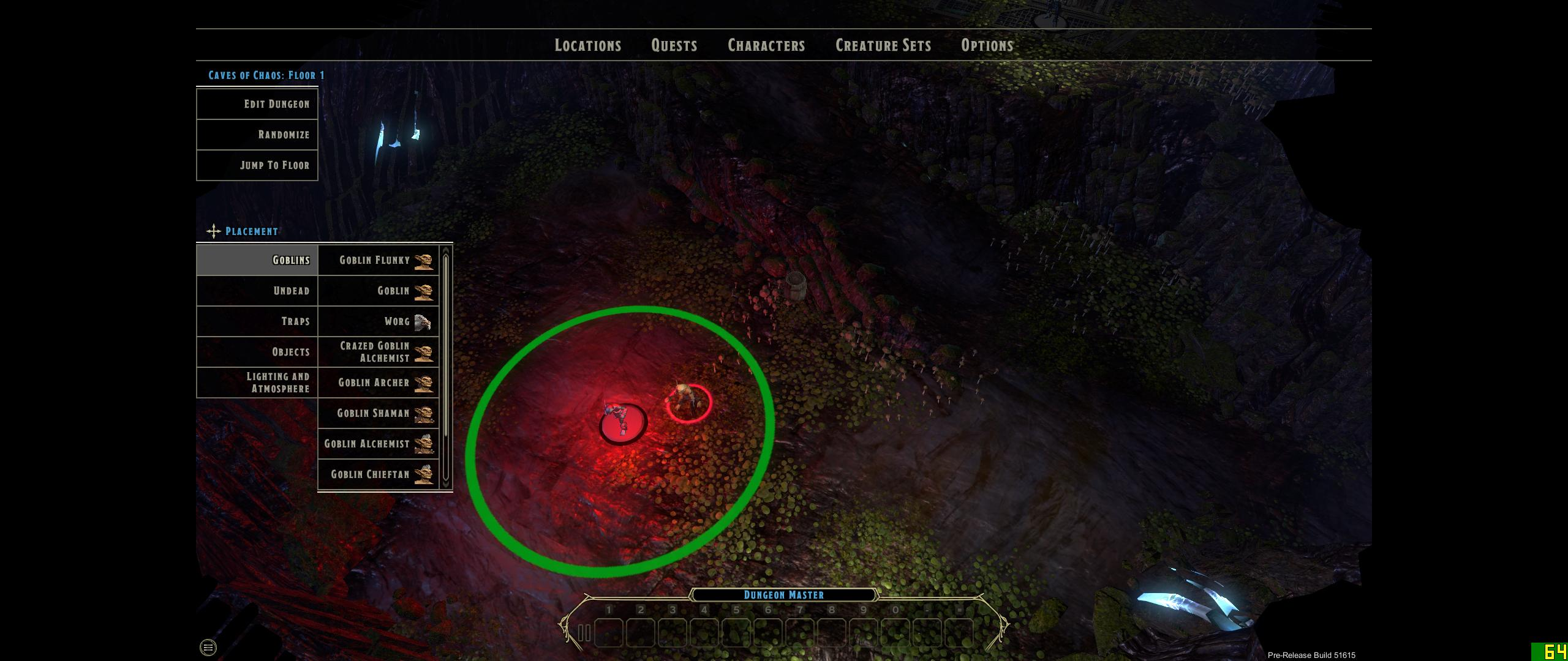 It's easy to create encounters in Sword Coast Legends' dungeon master tools.