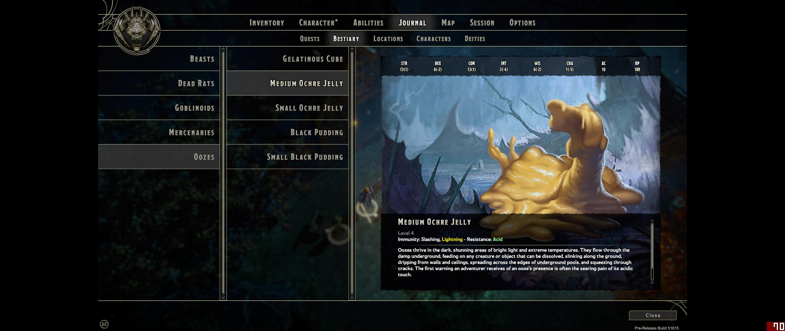 The Sword Coast Legends team really likes oozes. One early dungeon has three different types.