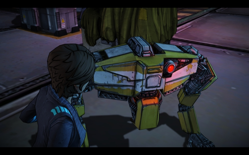Tales from the Borderlands 5 Loaderbot
