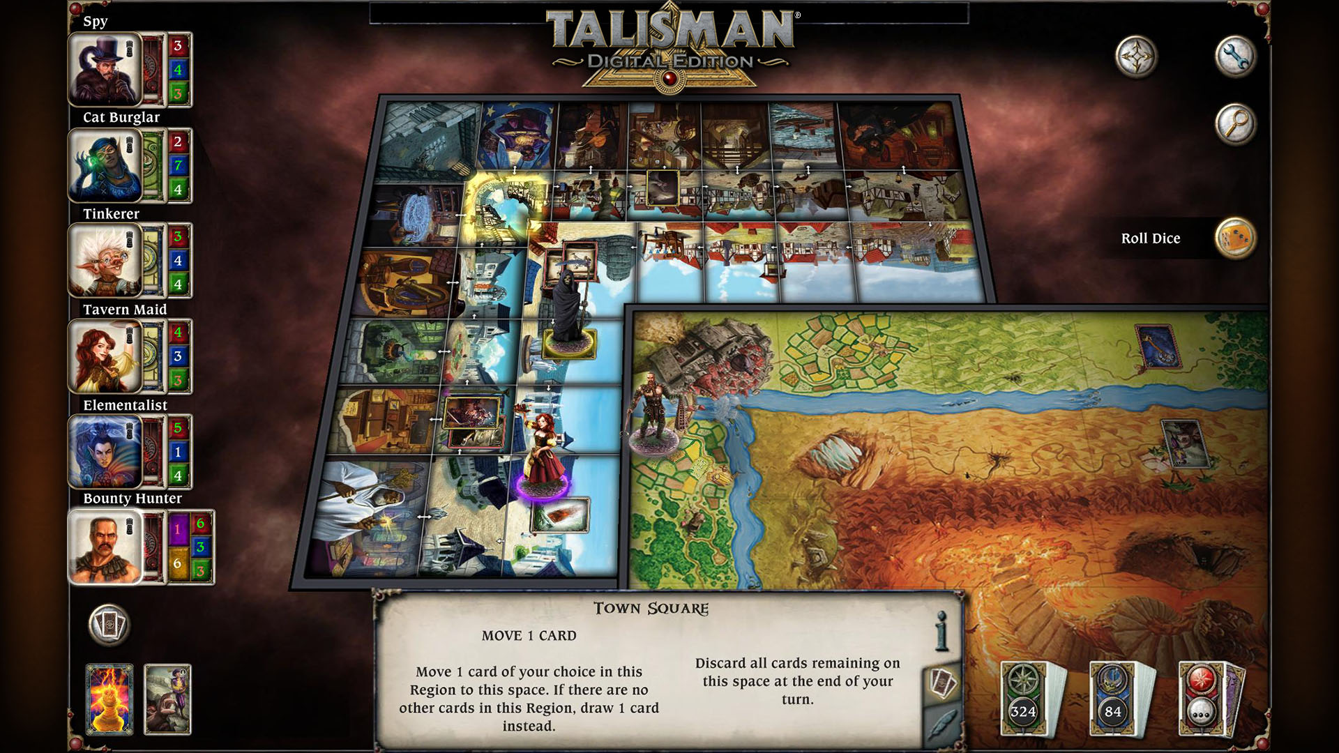 Talisman from Nomad Games.