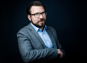 Tobias Sjögren, CEO of the new White Wolf Publishing company.
