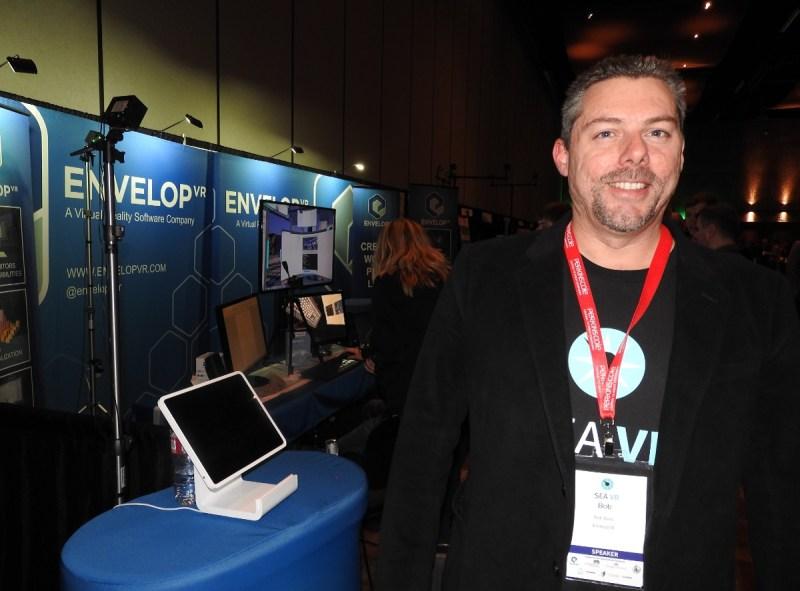 Bob Berry, CEO of Envelop VR.