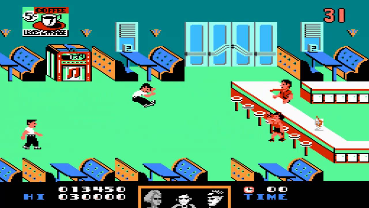 The NES Back to the Future game was like a pie to the face.