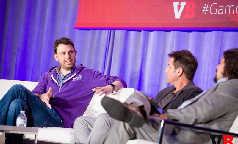 Greg Vederman of Twitch and Matt Wolf of Coca-Cola at GamesBeat 2015.