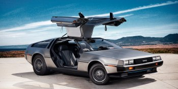 Rocket League gets Back to the Future car pack
