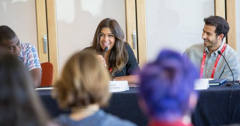 Asra Rasheed of Disney's game division at GamesBeat 2015's diversity panel.