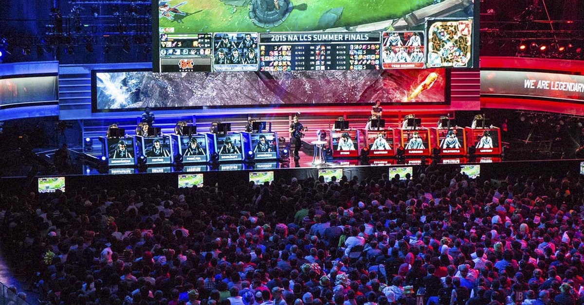 Esports has a huge, enthusiastic audience.