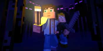 Minecraft Story Mode asks its young audience to care about narrative