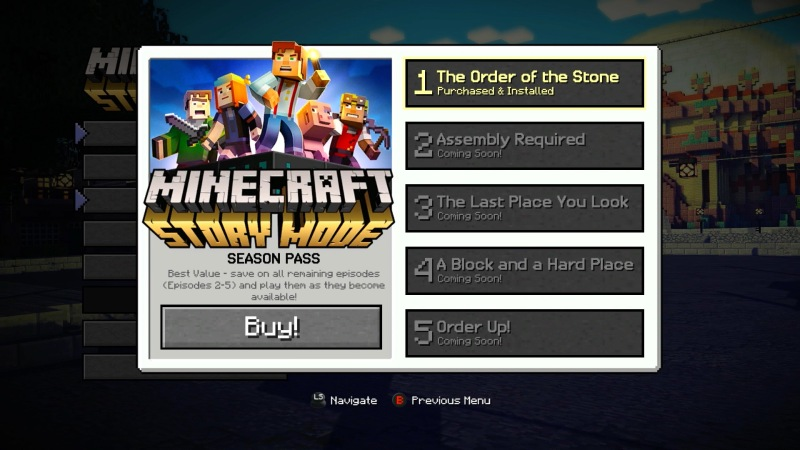 Minecraft Story Mode (image: Telltale Games)