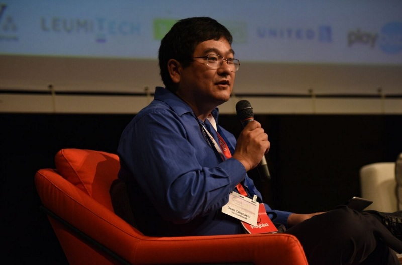 Dean Takahashi of GamesBeat at the Geektime Conference 2015.