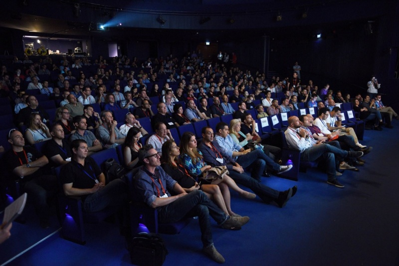 Audience at Geektime Conference 2015.