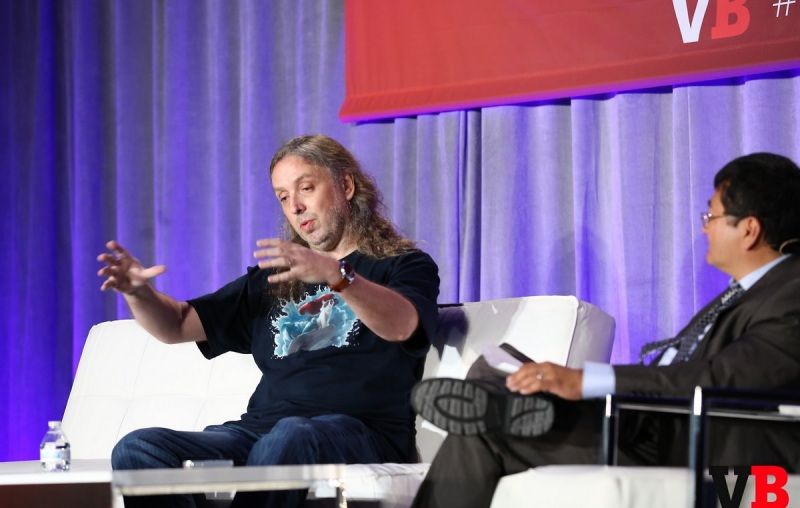 "Graeme Devine of Magic Leap prefers the term ""mixed reality"" instead of ""augmented reality."""