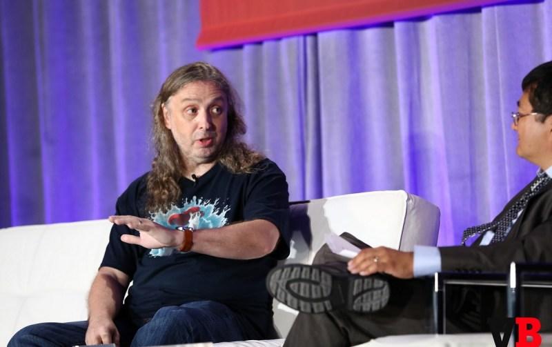 Graeme Devine, chief creative officer at Magic Leap at GamesBeat 2015.