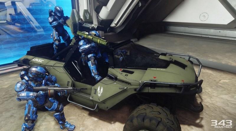 Halo 5: Guardian's Warthog.