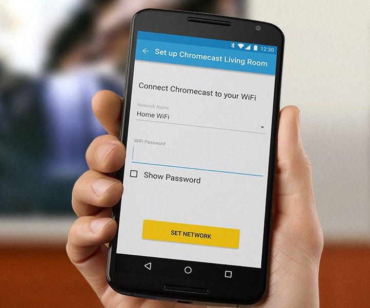 Chromecast: Wi-Fi