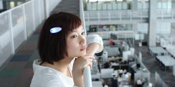 This smart hairclip translates sound to vibrations for the hearing impaired