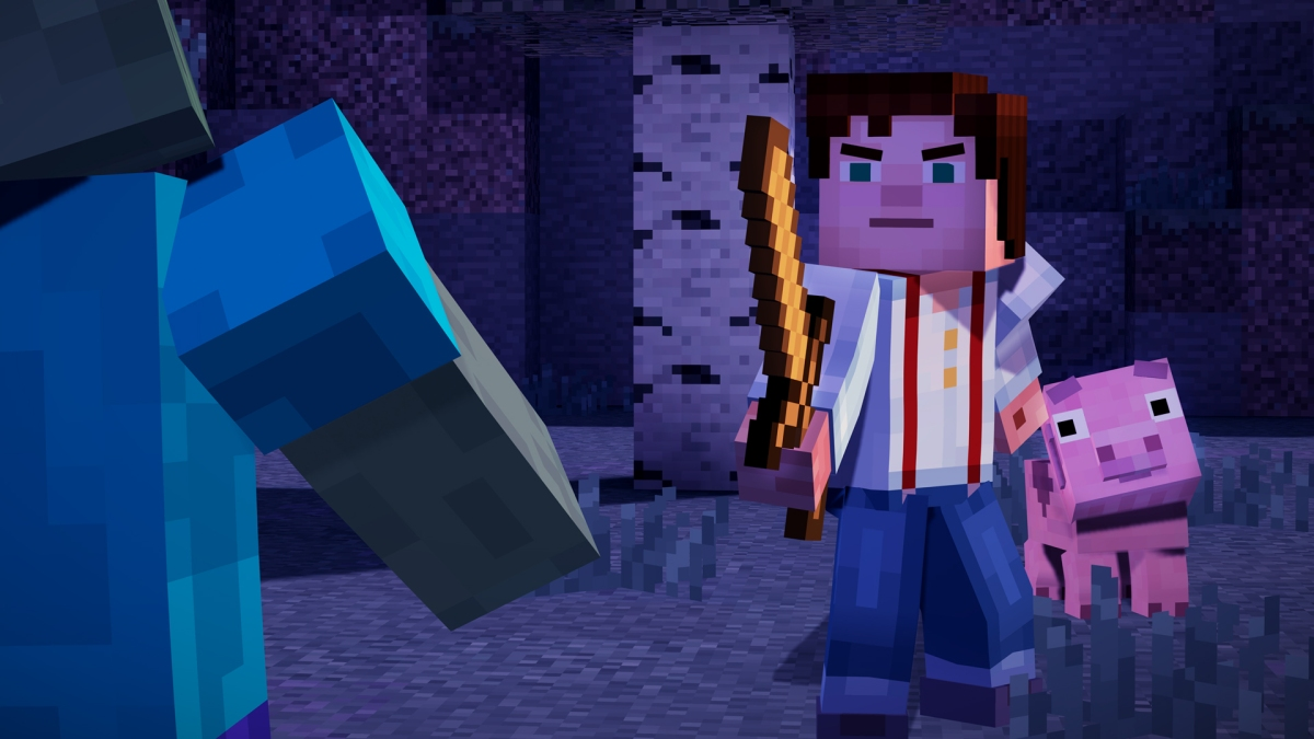 Minecraft: Story Mode understands that the blocky world is worth