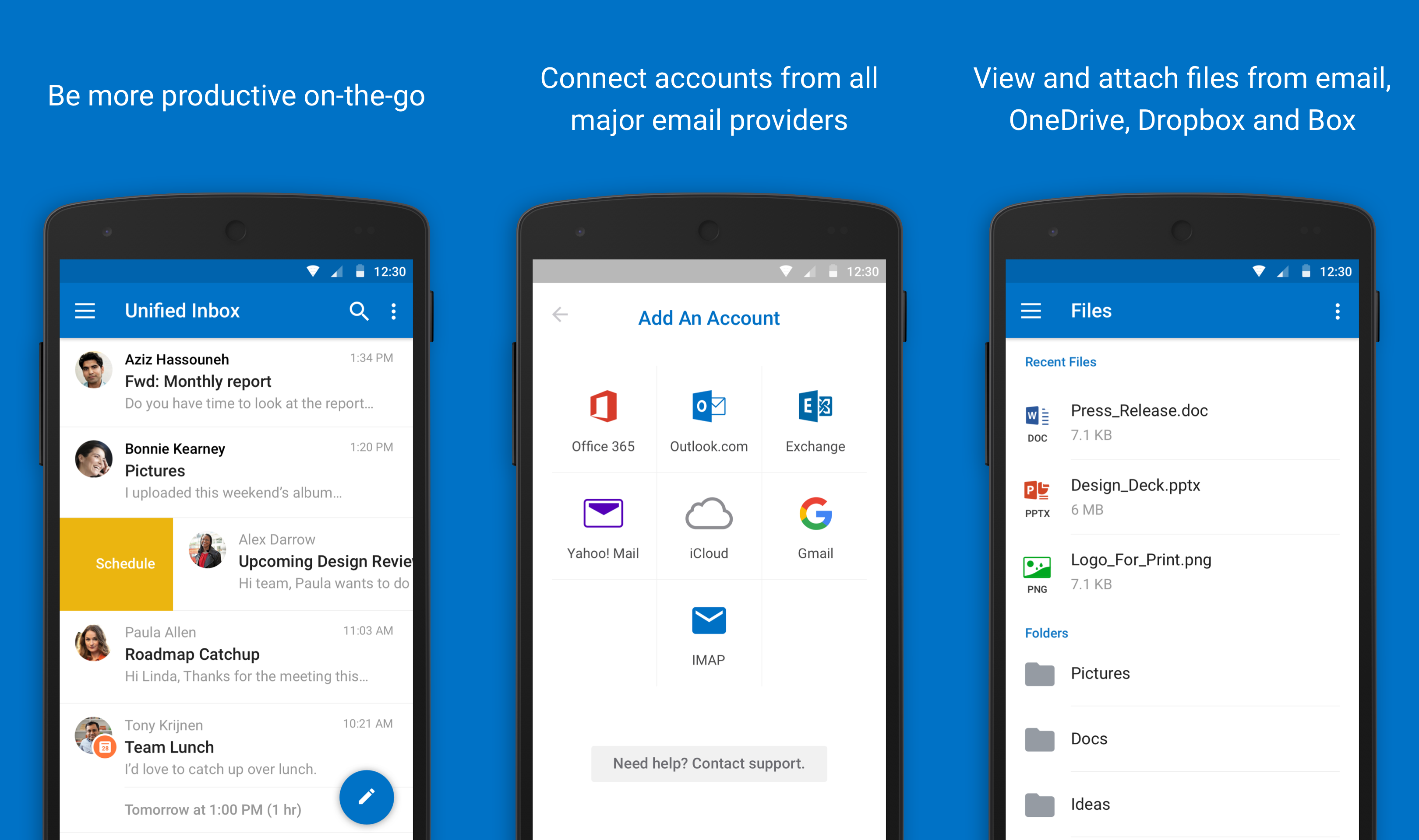 outlook for android reved