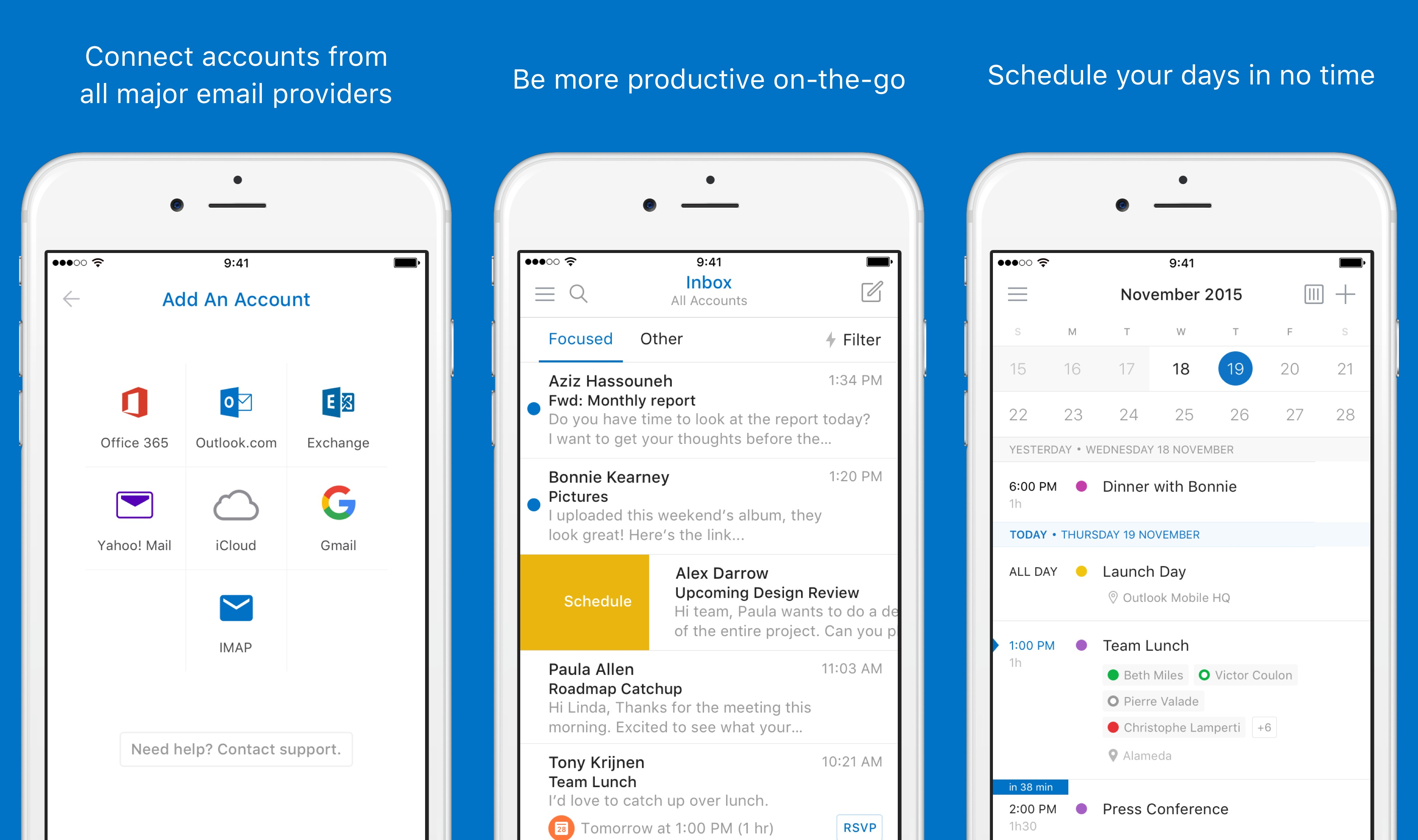 Microsoft Revamps Outlook For Android And Ios Will