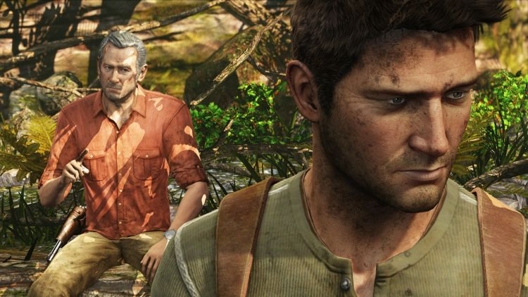 Sully and Nathan Drake in the Uncharted series.