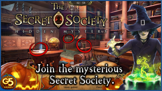 The Secret Society: Hidden Mystery.