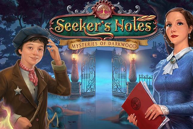 Seeker's Notes: Mysteries of Darkwood.