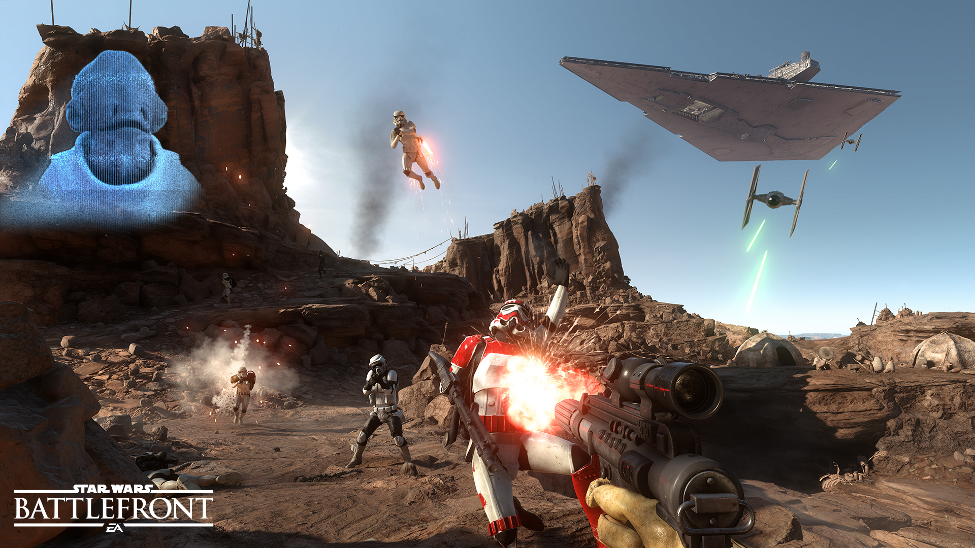 Star Wars: Battlefront's setting and world make for a great experience.