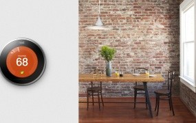 Thermostats like Nest use AI to adjust room temperature automatically.