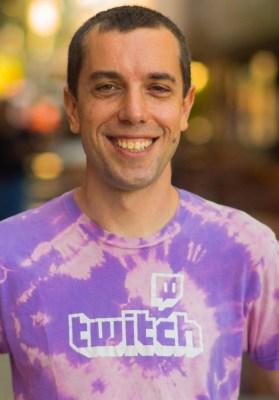 Bill Morrier, head of Twitch Creative.