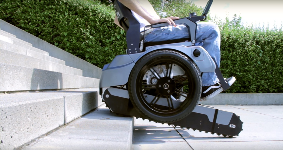 Students in switzerland built a wheelchair that knows how for Sedia motorizzata per scale