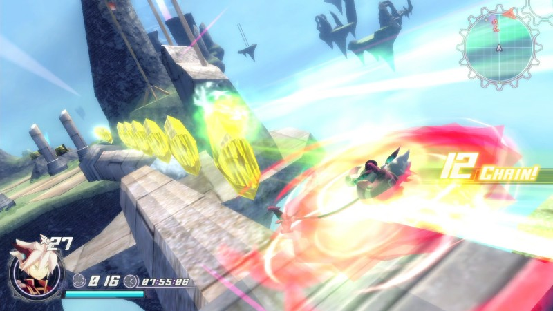 Grabbing oodles of gravitons in one go is one of Rodea's satisfactions.