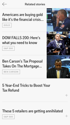 Flipboard Related Stories