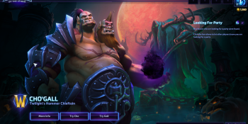 Heroes of the Storm's two-player Cho'Gall is a chaotic riot — if you can find a partner