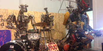 Meet 'One Love Machine,' the robot band built by a German artist