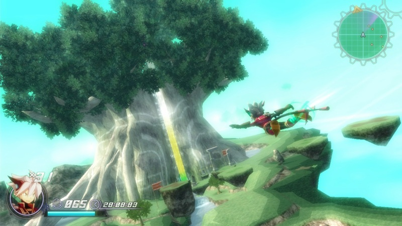 The imagination at play in Rodea's world is admirable.