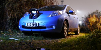Nissan wants to bring wireless charging technology to electric cars