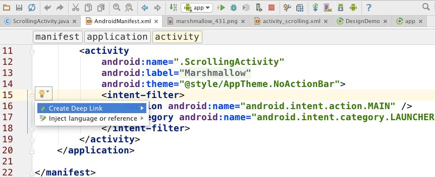 AndroidStudio2.0_SearchDeepLink