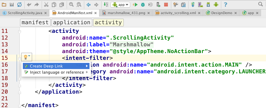 AndroidStudio2.0_SearchDeepLink