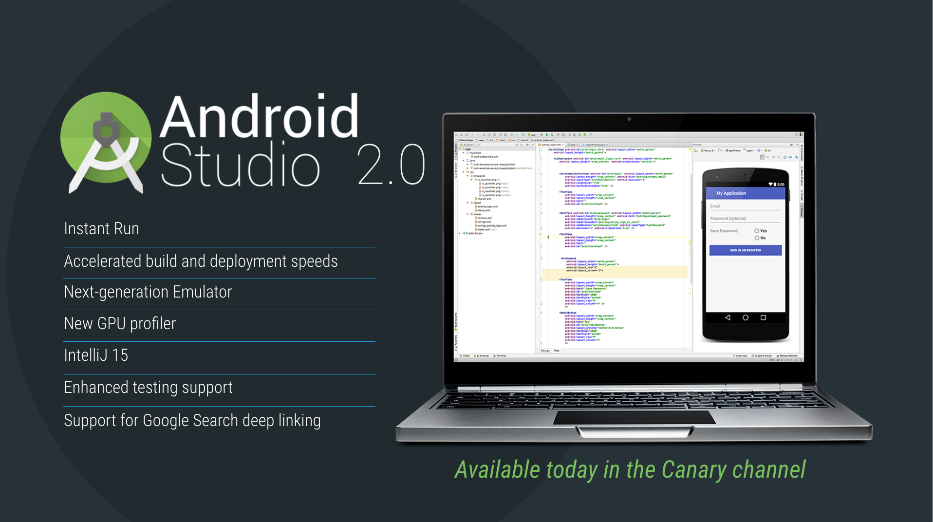 Google unveils Android Studio 2 0 with Instant Run, faster Android