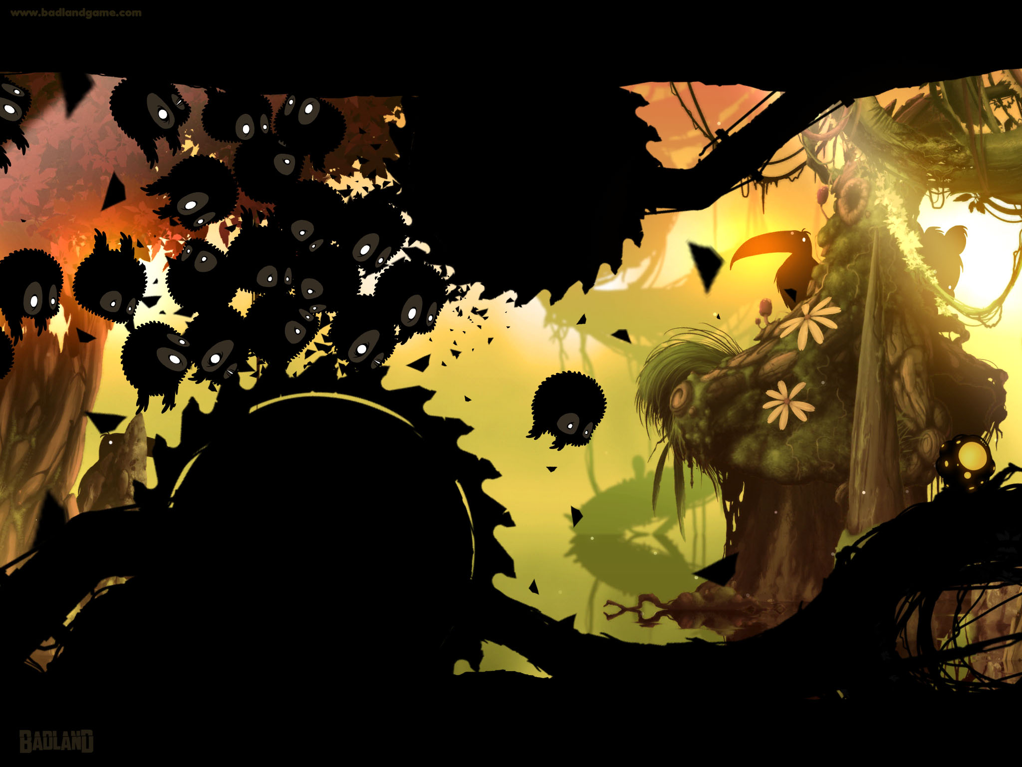 Badland's satisfying difficulty curve and stellar art direction puts it among the best mobile games yet released.