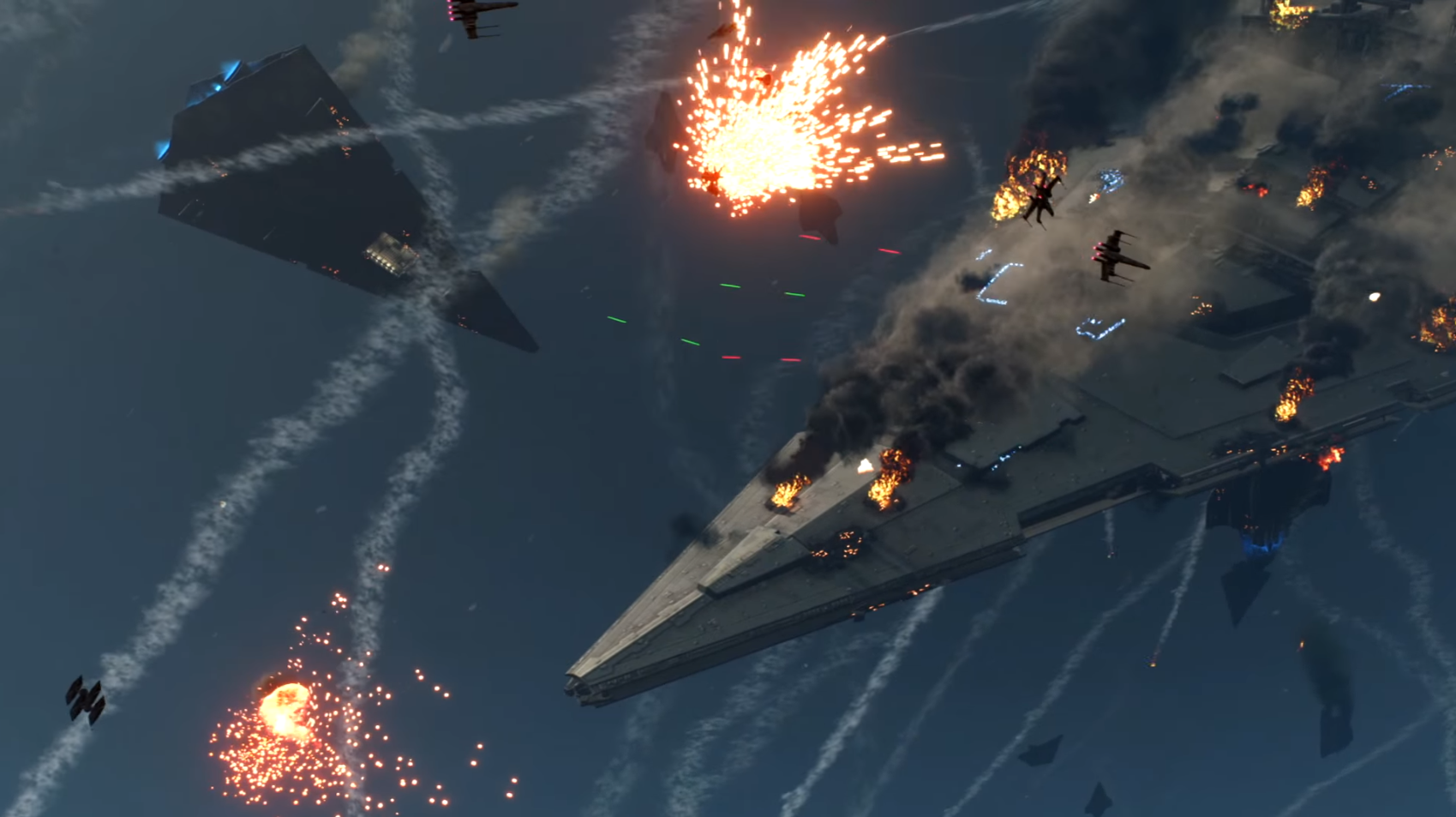 I don't think that Star Destroyer is spaceworthy anymore.