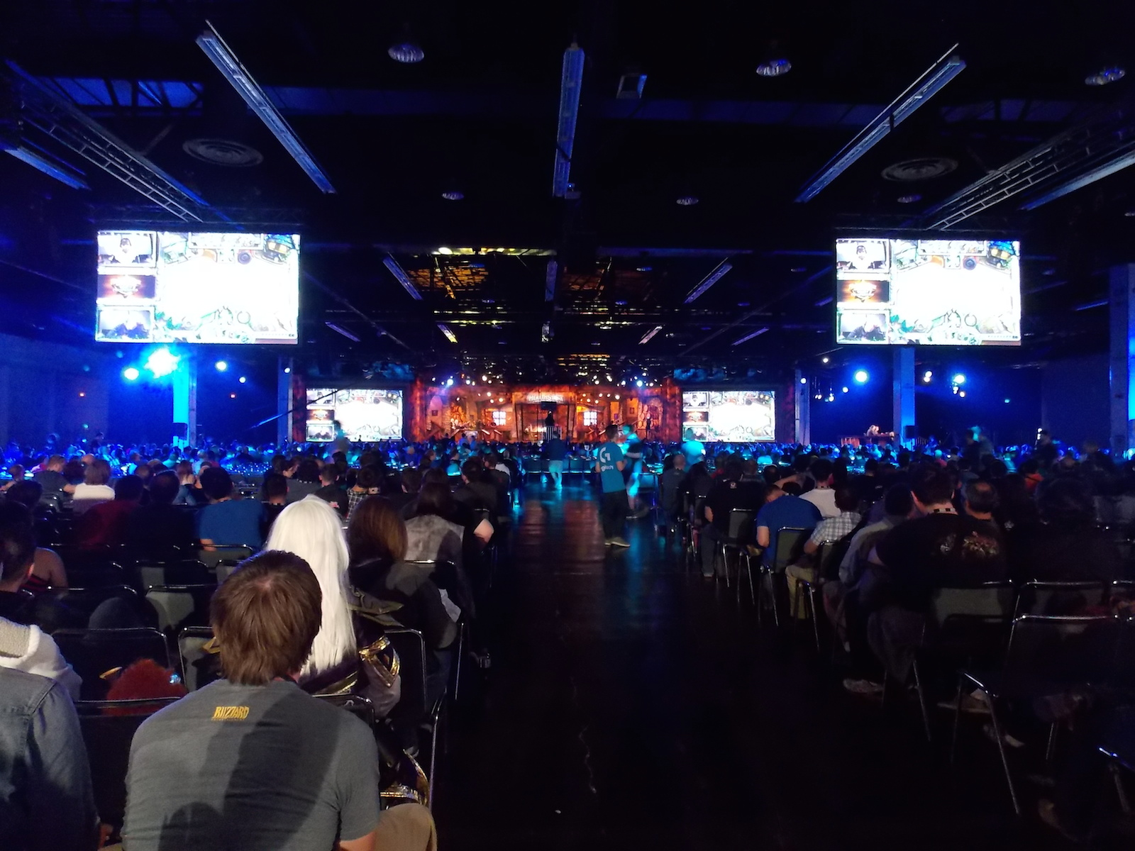 The crowd at the Hearthstone championships at BlizzCon 2015.