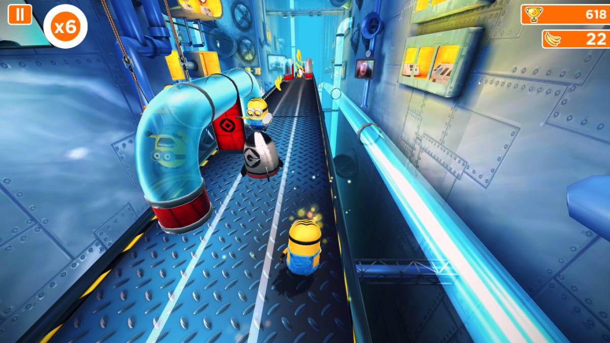 Minion Rush is a well-designed micro-transaction vending machine squeezed into an average game.