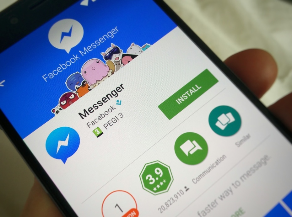 Image result for facebook launching advertisement on messenger