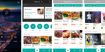 Microsoft revamps Bing for iPhone with local recommendations and deep links