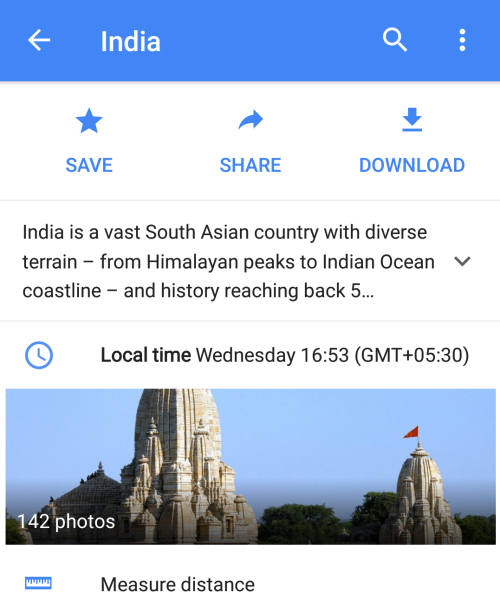 India - Google Maps
