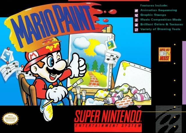 Mario Paint was one of Nintendo's first successful forays into non-traditional game software.